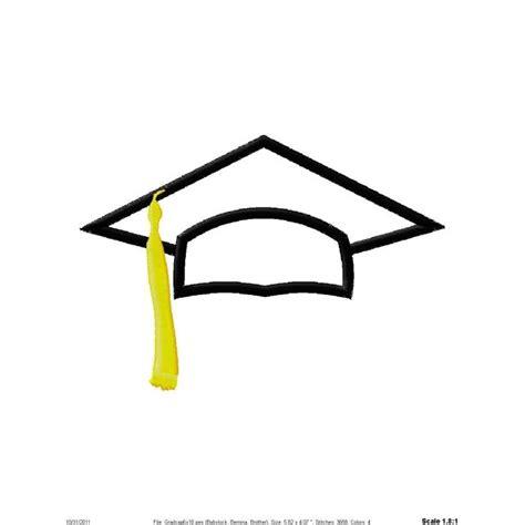 Graduation Cap Clipart Black And White graduation hat clipart black and white clipartsgram