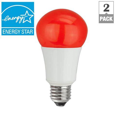 Tcp 40w Equivalent A15 Household Led Light Bulbs Red 2 Led Household Light Bulbs
