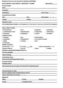 Incident Report Exle Fall Top 4 Formats Of Incident Report Templates Word Templates Excel Templates