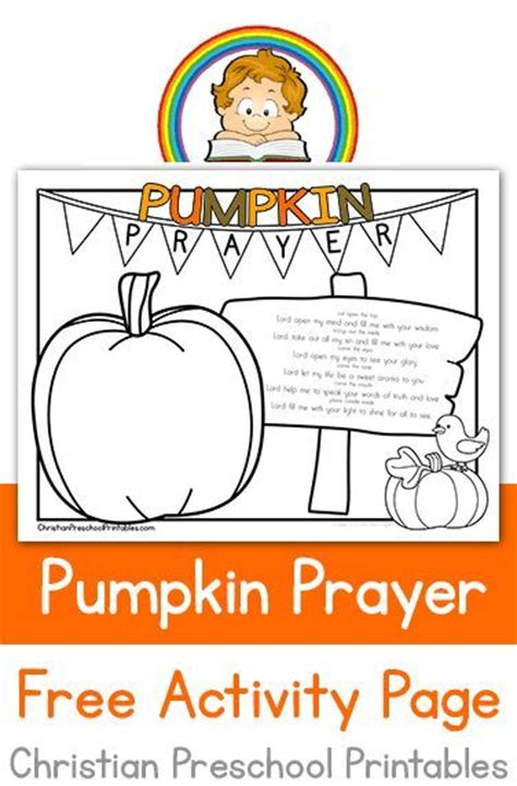 pumpkin coloring pages for sunday school pumpkin parable printable pumpkin theme pinterest