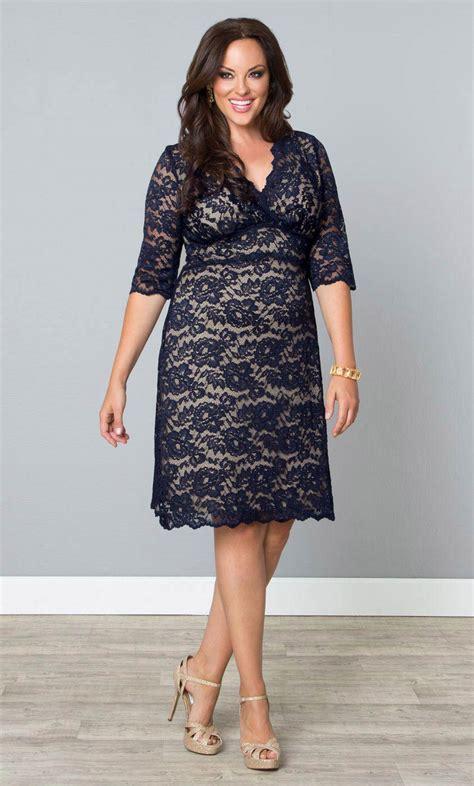 Bocdior Dress plus size lace dresses scalloped boudoir lace dress by kiyonna