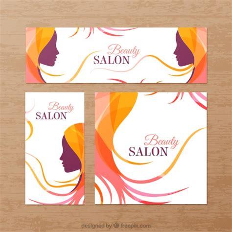 banner design beauty parlour beauty salon banners vector premium download