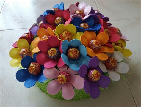 torte fiori torta fiori chupachups feste decorazioni di luana