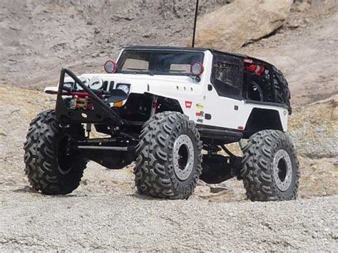 jeep rock crawler rc finishing touches on the scale yj off road com