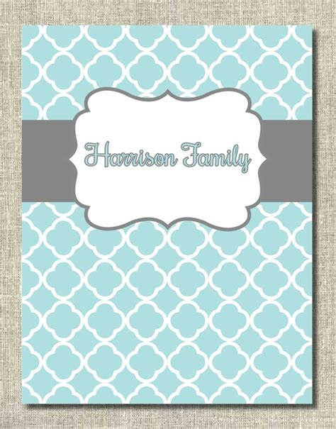 printable 3 ring binder covers binder cover family household binder printable pdf