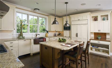 Centre Islands For Kitchens craftsman kitchen craftsman kitchen chicago by