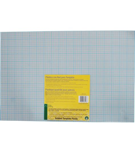 template plastic gridded plastic template sheets jo