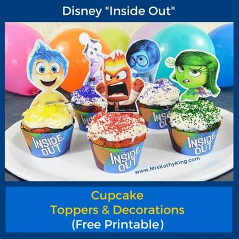 inside out printable party decorations free inside out printable cupcake toppers decorations