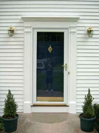 Exterior Front Door Trim Molding Home Design Exterior Door Trim Moulding