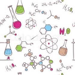 vektor illustration zeichnen chemie muster