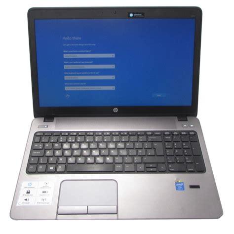Hardisk Laptop Hp Probook hp probook 450 g1 intel i5 4200m 8gb ram 500gb hdd windows 10 15 6 quot laptop ebay