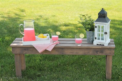 easy diy bench easy diy outdoor bench love grows wild