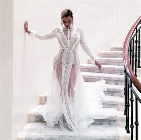 Beyonce Wedding Gown by How Beyonce Dress Wedding Gowns Trends News
