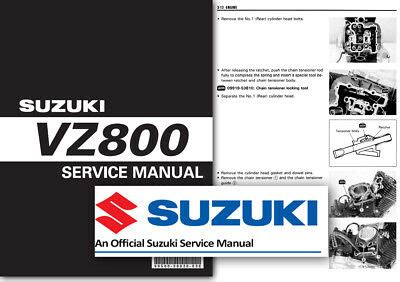 Suzuki Vz800 Marauder Workshop Service Shop Manual Factory