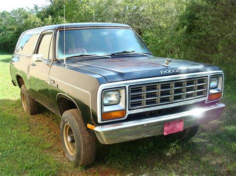 1982 dodge charger for sale 1982 dodge ramcharger 318 v8 automatic 4x4 for sale in
