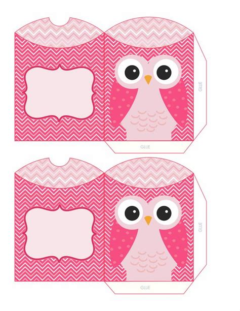 Owl Pillow Box Template by Pink Owl Boxes Dari Rd Owl Box Pink Owl