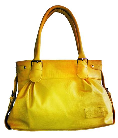buy bags bucks yellow shoulder bag at best prices