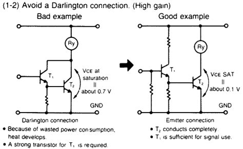 darlington transistor disadvantages which transistor configuration page 1