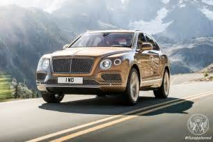 Bentley Suv 2015 The New Bentley Bentayga Suv Unveiled
