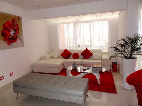 sala comedor rojo  blanco salas  comedores decoracion