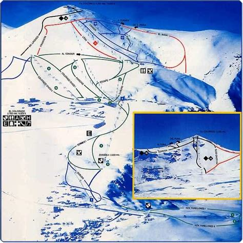 colorado ski resorts map el colorado world ski resorts piste maps