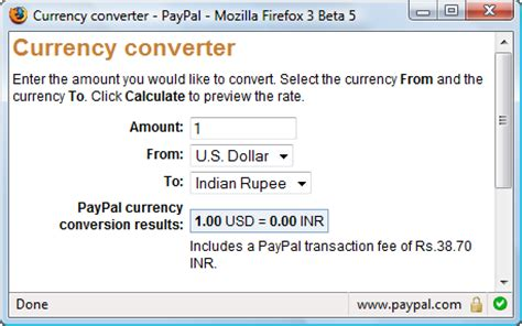 currency converter paypal currency converter
