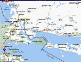 sault ste canada map sault ste map