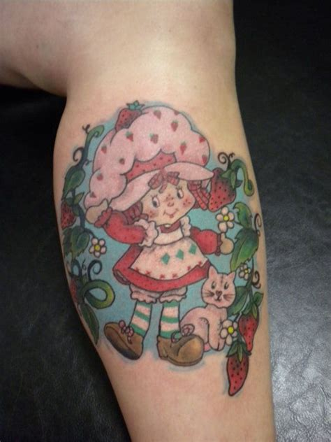 strawberry shortcake tattoo tattoo pinterest