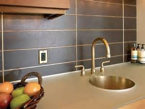 aluminum backsplash kitchen metal backsplash ideas hgtv