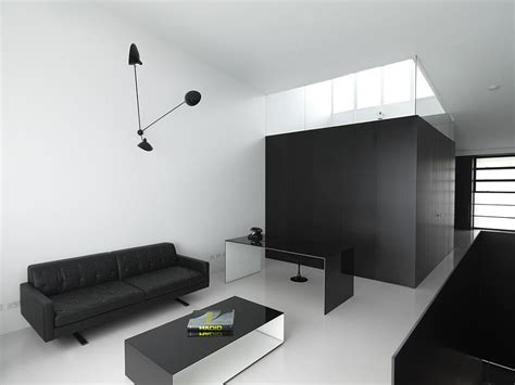 minimal modern 30 black and white home offices that leave you spellbound