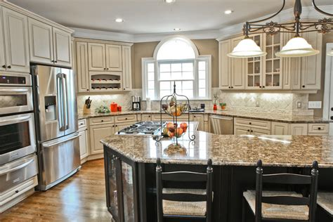 Antique White Cabinets Diy by Antique White Cabinets Kitchen Traditional With Country