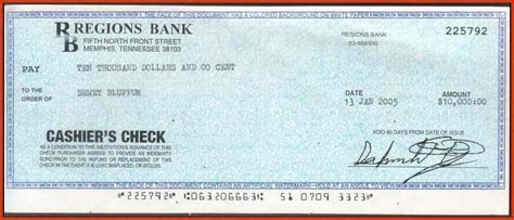 Cashiers Check Template Beepmunk Cashiers Check Template