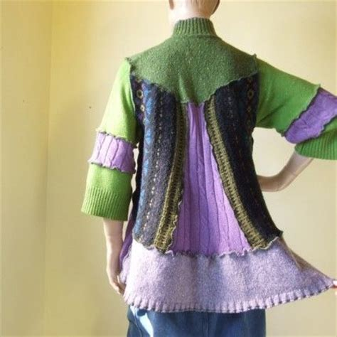 Handmade Sweater Ideas - seller of the day jill2day repurposed and recycled