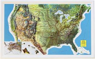 relief map of buy usa relief map rand mcnally flagline