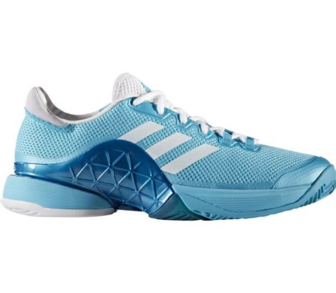 adidas barricade 2017 textile s tennis shoes light blue white buy it at the keller