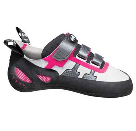 eb django s rock climbing shoe uk 3 35 pink grey
