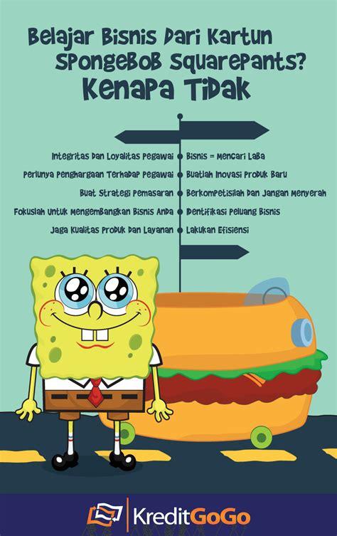 film kartun anak spongebob belajar bisnis dari kartun spongebob squarepants kenapa
