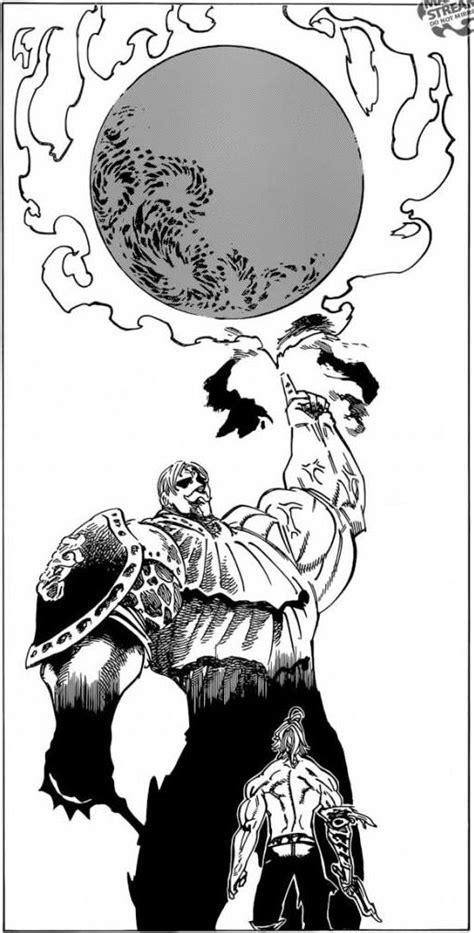 Nanatsu no Taizai manga 185 | Escanor evaporated Estarossa