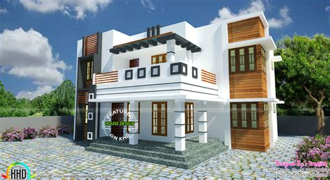 kerala home design west facing vastu shastra based modern home architecture kerala home