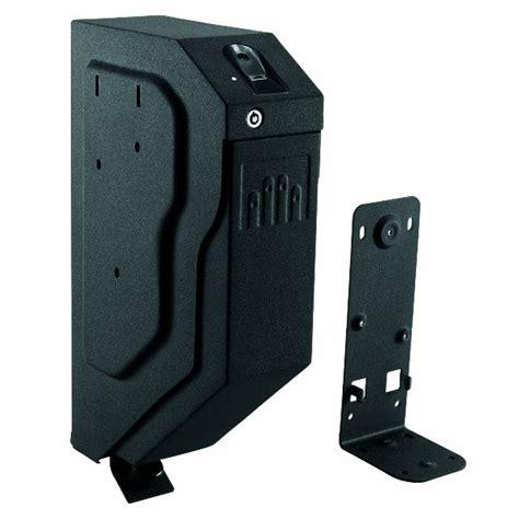 gunvault speedvault biometric gun desk safe