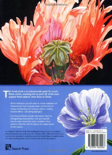 libro the illustrated a z of the acrylic flower painter s a to z an illustrated directory of techniques for painting 40