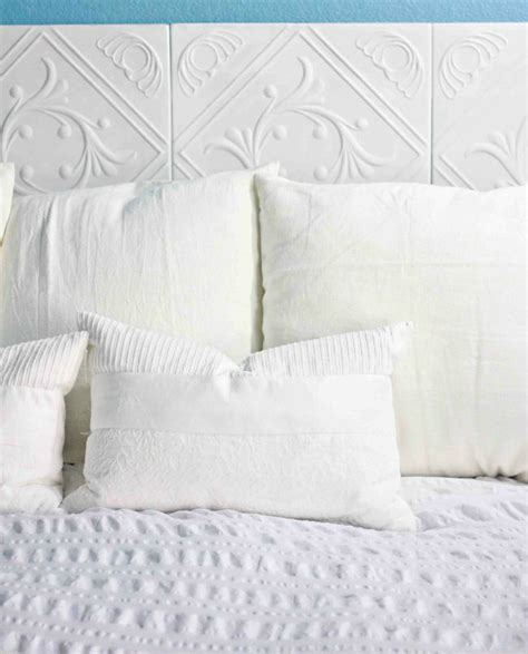 making a headboard with foam 21 diy headboards to fall in bed for