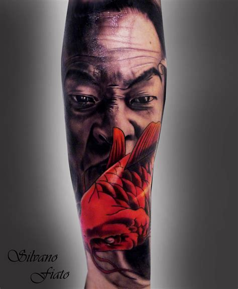 tattoo japanese face silvano fiato certified artist