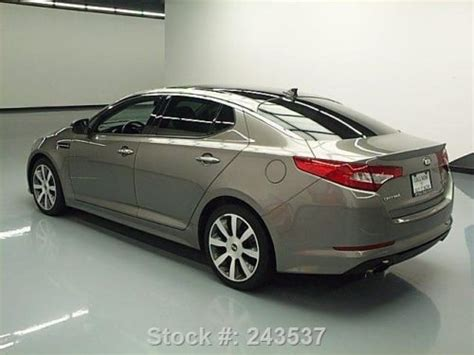 Kia Optima Sx T Gdi by Purchase Used 2013 Kia Optima Sx T Gdi Dual Sunroof