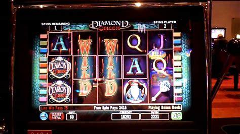 penny slot machines diamond queen bonus win on penny slot machine youtube