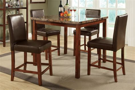 dining 5 set breakfast furniture counter height