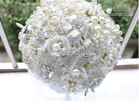wedding bouquet jewellery cheap new luxury jewelry wedding bouquet high end custom