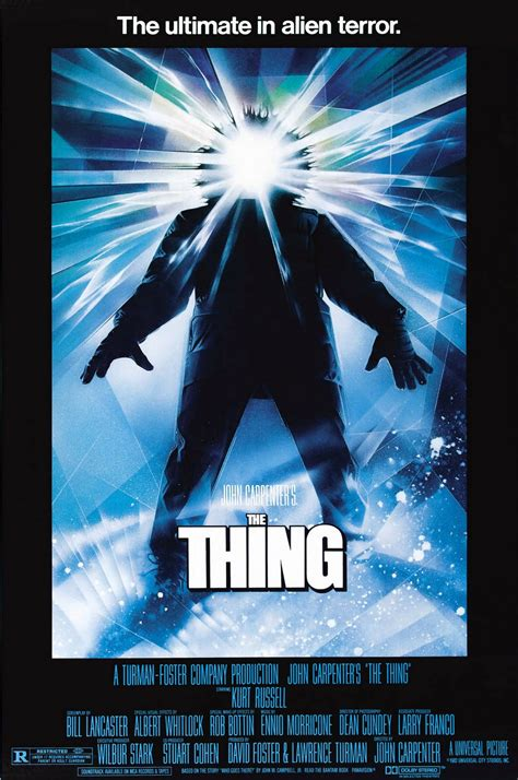 What Is The Thing On Top Of A Barn Called The Poster For Quot The Thing Quot Was Painted In One Day Fact Fiend