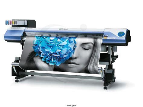 Printer Roland roland versacamm vsi metallic printer cutter solvent