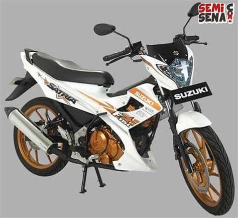 Alarm Satria Fu Fighter 1 spesifikasi dan harga suzuki satria fu 150 white fighter